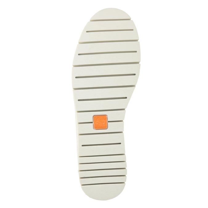 Dámske kožené Slip-on topánky na výraznej podrážke flexible, 536-5603 - 19