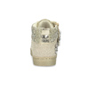 Zlaté dievčenské tenisky s kamienkami mini-b, zlatá, 329-8301 - 15