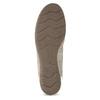 Kožené baleríny s kamienkami gabor, béžová, 526-8502 - 18