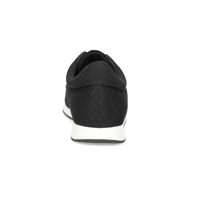 Ležérne čierne tenisky dámske vagabond, čierna, 629-6161 - 15