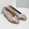 Kožené baleríny šírky G gabor, béžová, 626-8055 - 26