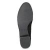 Lodičky z brúsenej kože vagabond, čierna, 623-6049 - 18