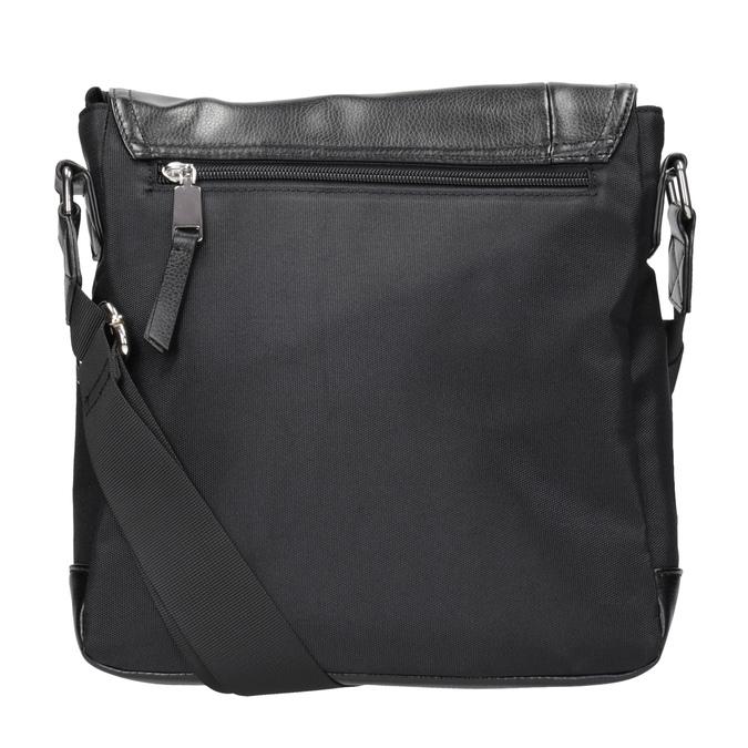 Pánska taška v štýle Crossbody bata, čierna, 961-6832 - 16