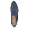 Modré kožené Chelsea čižmy bata, 593-9614 - 17
