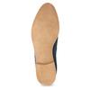 Modré kožené Chelsea čižmy bata, modrá, 593-9614 - 18