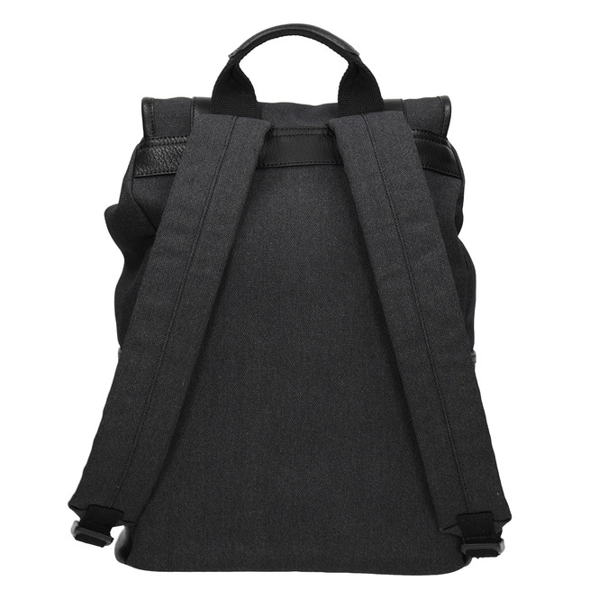 Unisex batoh s prackami atletico, čierna, 969-6678 - 16