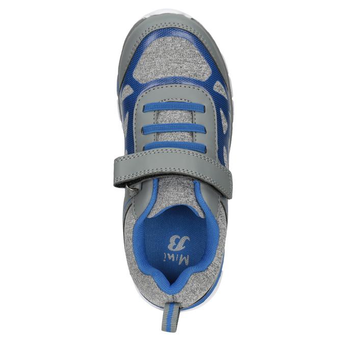 Detské športové tenisky mini-b, šedá, 319-2148 - 15
