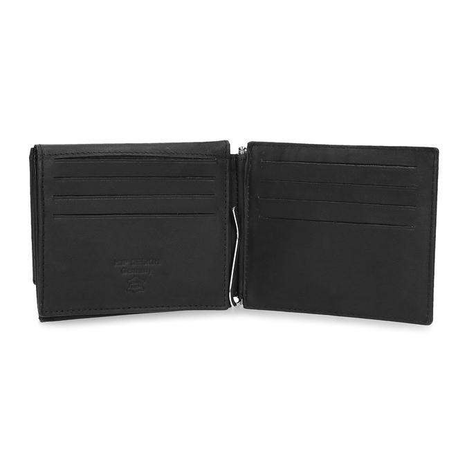 Pánska kožená peňaženka bata, čierna, 944-6209 - 15