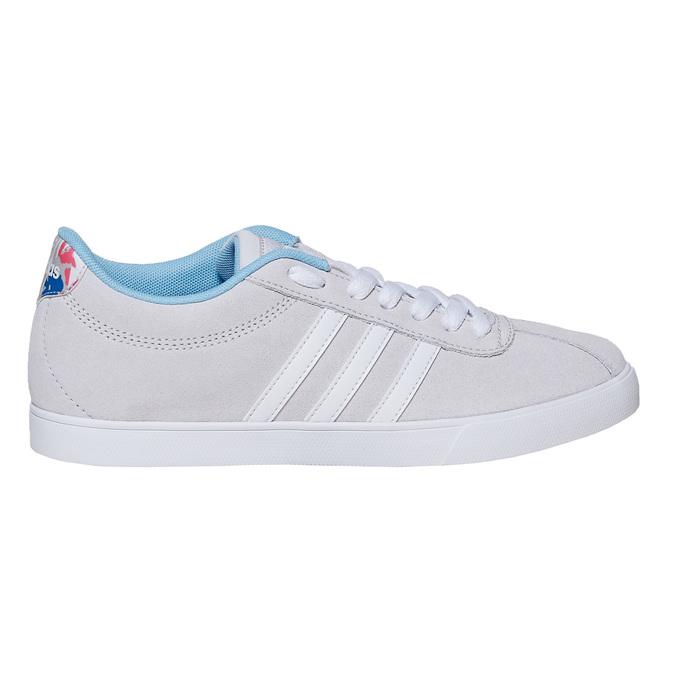 Dámske šedé tenisky adidas, šedá, 501-2229 - 15