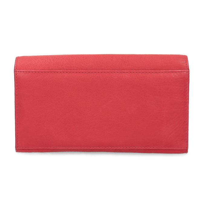 Dámska kožená peňaženka bata, červená, 944-5211 - 16