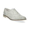 Dámske kožené Brogue poltopánky bata, šedá, 526-1649 - 13