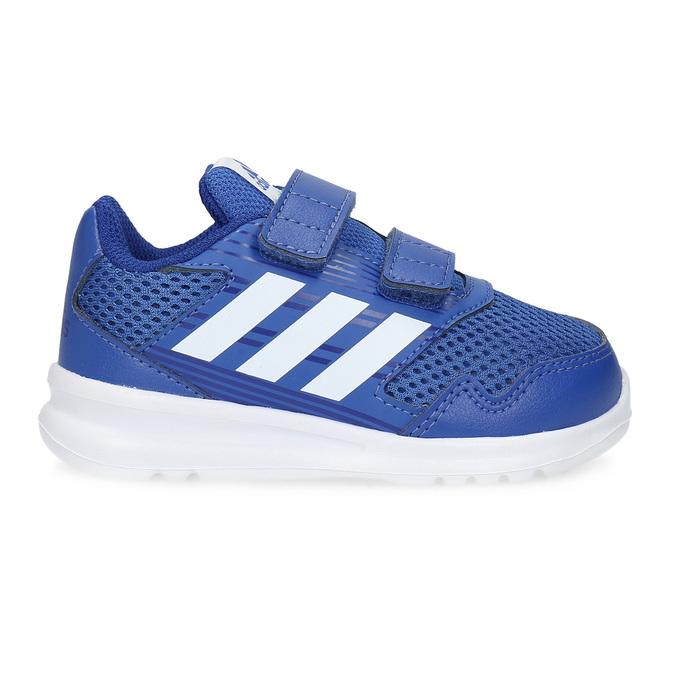 Modré detské tenisky adidas, modrá, 109-9147 - 19