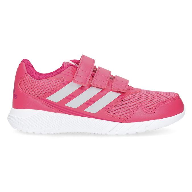 Ružové tenisky na suchý zips adidas, ružová, 309-5148 - 19