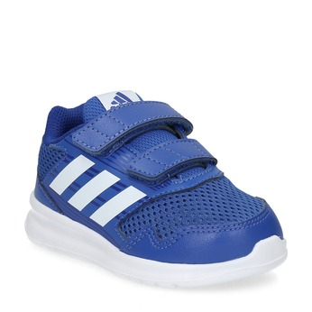 Modré detské tenisky adidas, modrá, 109-9147 - 13