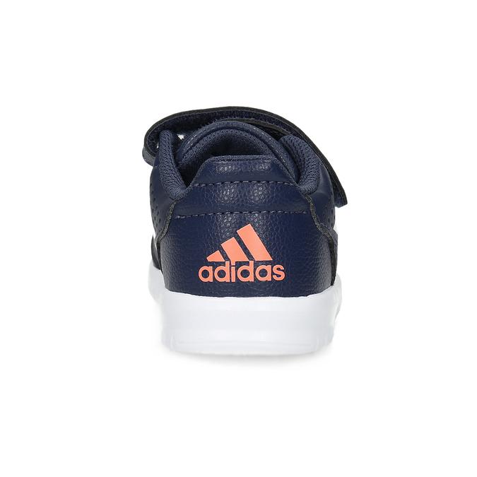 Modré tenisky na suchý zips adidas, modrá, 101-9151 - 15