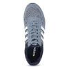 Pánske tenisky z brúsenej kože adidas, modrá, 803-2293 - 17