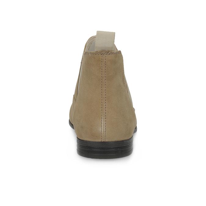 Kožené členkové Chelsea Boots vagabond, hnedá, 513-4098 - 15