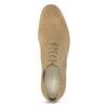 Oxford poltopánky z brúsenej kože vagabond, béžová, 823-8015 - 17