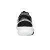 Čierno-biele tenisky s tkaným vzorom adidas, čierna, 809-1101 - 15