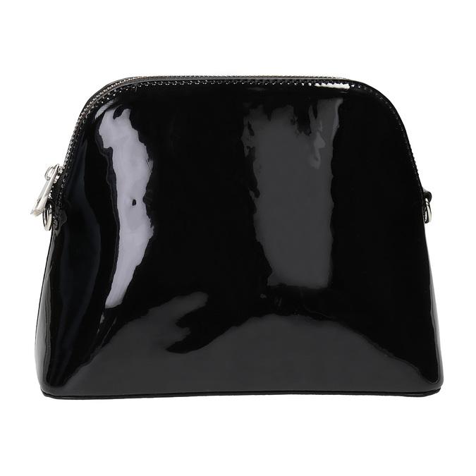 Lakovaná čierna kabelka bata, čierna, 961-6850 - 26