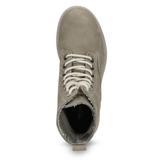 Dámska členková obuv weinbrenner, béžová, 596-8693 - 17