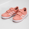 Detské tenisky v lososovej farbe adidas, ružová, 301-5151 - 16