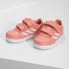 Dievčenské ružové tenisky na suchý zips adidas, ružová, 101-5151 - 16