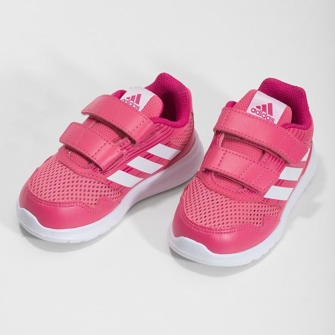 Ružové detské tenisky adidas, ružová, 109-5147 - 16