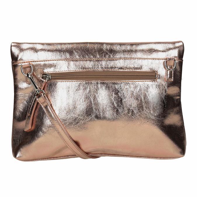Zlatá Crossbody kabelka bata, 961-9852 - 16