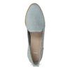Kožená dámska Loafers obuv bata, modrá, 519-9605 - 17
