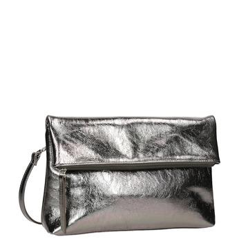Strieborná dámská Crossbody kabelka bata, strieborná, 961-1852 - 13