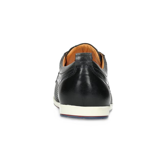 Ležérne kožené poltopánky bata, čierna, 824-9124 - 15