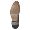 Pánske kožené poltopánky so zdobením bata, hnedá, 826-4927 - 18