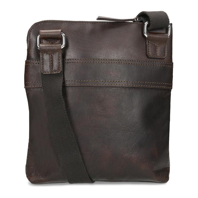 Hnedá kožená Crossbody taška bata, hnedá, 964-4288 - 16
