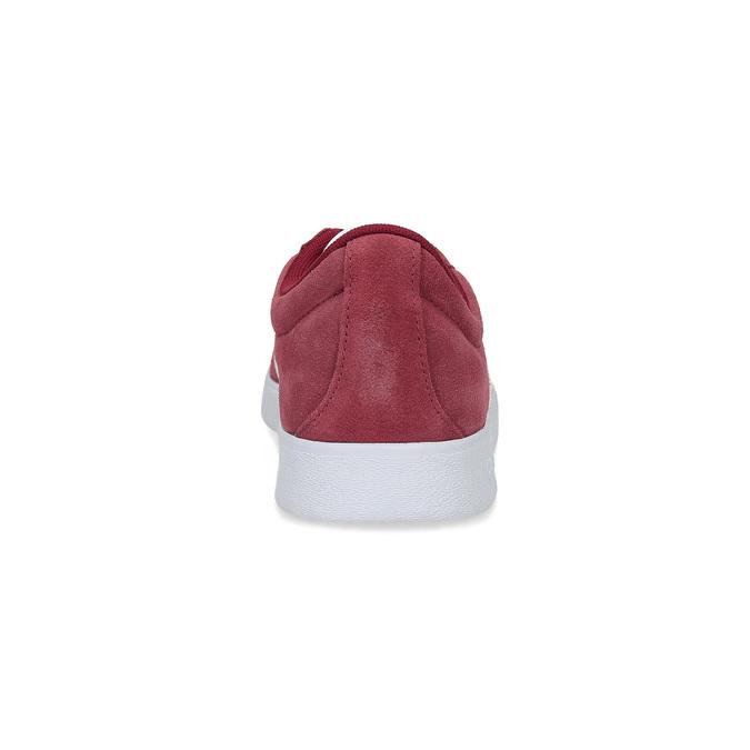 Červené pánske tenisky z brúsenej kože adidas, červená, 803-5379 - 15