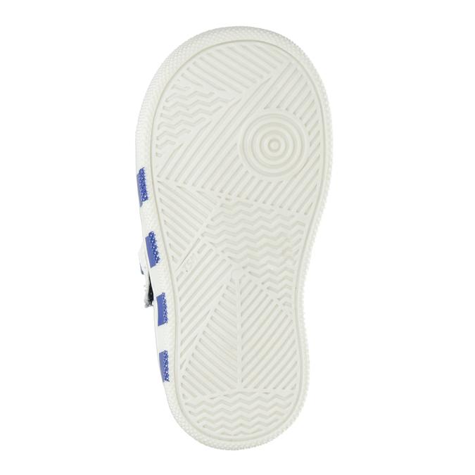 Kožená detská členková obuv bubblegummers, 114-9604 - 19