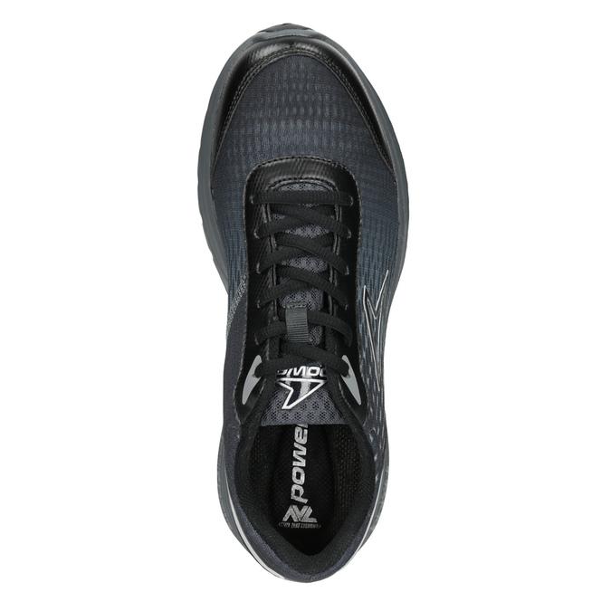 Pánske šedé tenisky športového strihu power, čierna, 809-6853 - 15