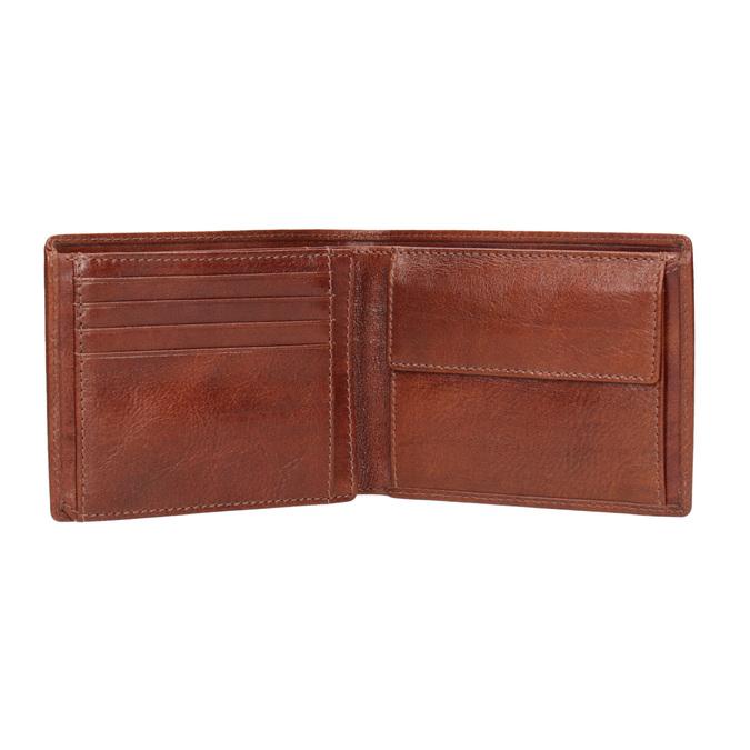 Hnedá kožená pánska peňaženka bata, hnedá, 944-3191 - 15