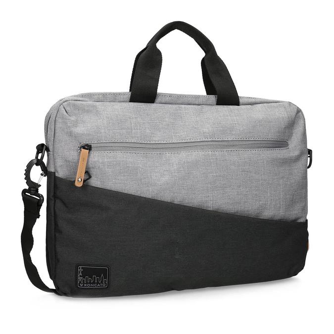 Šedá taška na notebook roncato, šedá, 969-2697 - 13