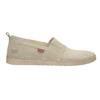 Kožená dámska Slip-on obuv weinbrenner, béžová, 536-8607 - 16