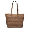 Shopper kabelka s perforovaným vzorom gabor-bags, hnedá, 961-3442 - 26