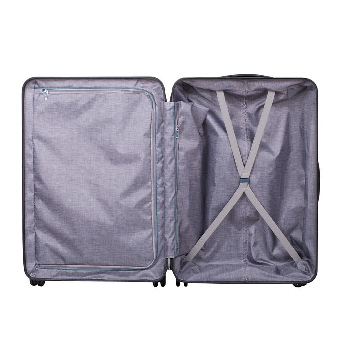 Škrupinový cestovný kufor samsonite, čierna, 960-6612 - 17