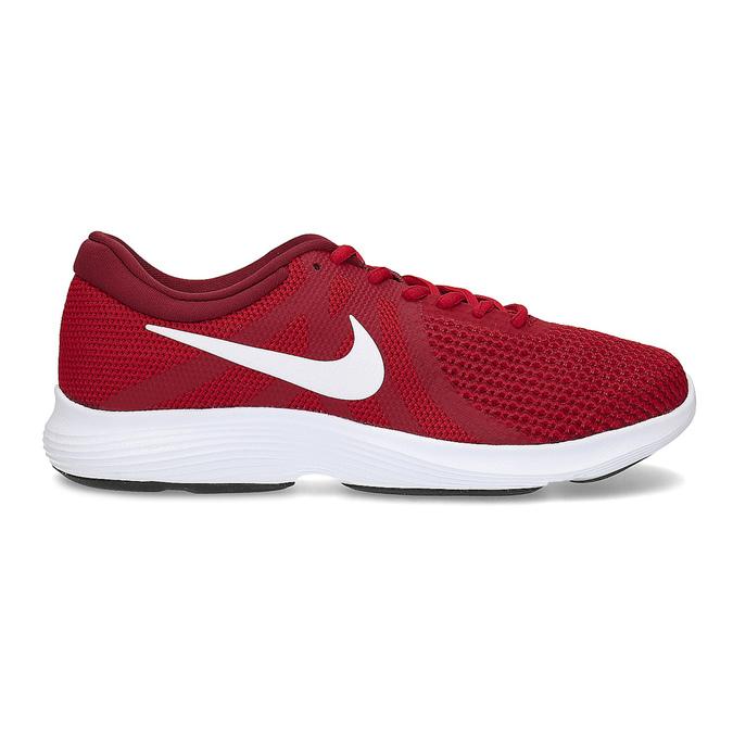 Červené pánske tenisky v športovom dizajne nike, červená, 809-5651 - 19