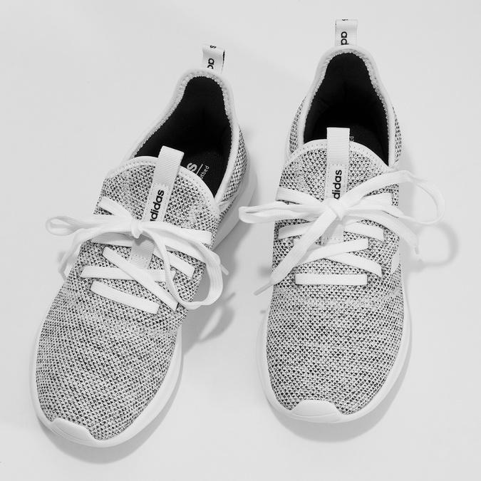 Tenisky s vykrojením v pätovej časti adidas, šedá, 509-2569 - 16