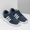 Modré chlapčenské tenisky športového strihu adidas, modrá, 409-9388 - 26
