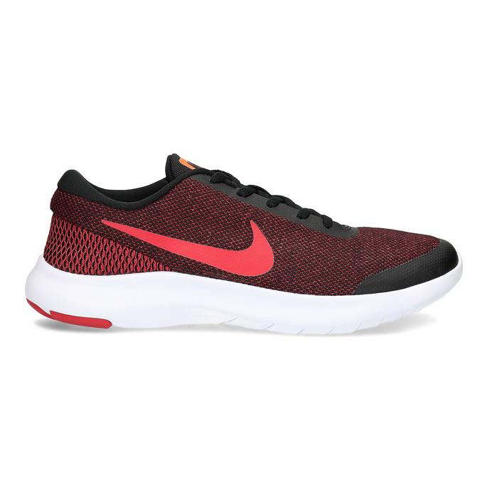 Pánske tenisky s pleteným zvrškom nike, červená, 809-5716 - 19