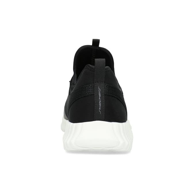 Skechers tenisky s vykrojením okolo členku skechers, čierna, 809-6807 - 15
