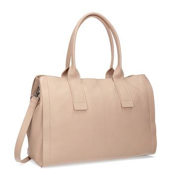 Svetlo béžová kožená kabelka bata, béžová, 964-8298 - 13