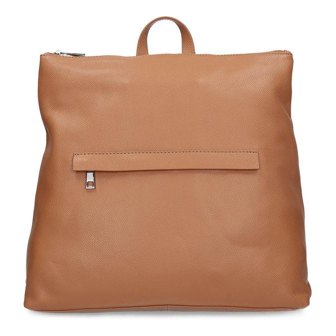 Mestský hnedý kožený batoh bata, hnedá, 964-3295 - 26
