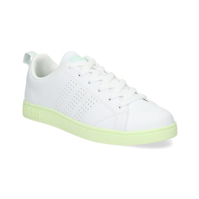 Adidas Dámske biele tenisky so zelenou podrážkou  28e4d722b7b